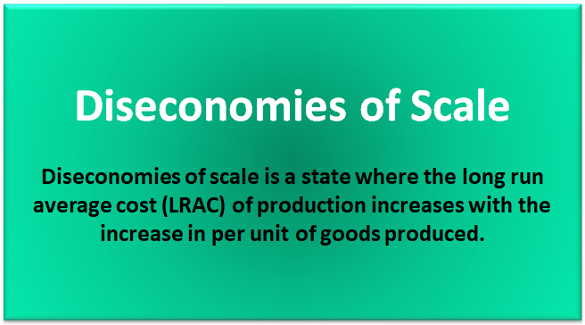 internal diseconomies of scale definition