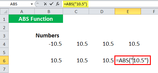 ABS in Excel - Illustration 12