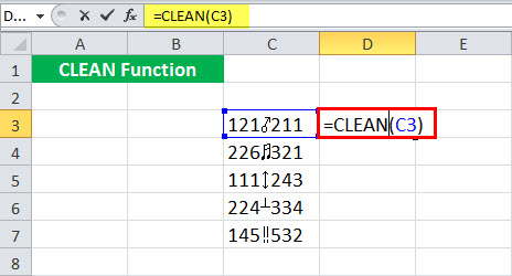 CLEAN Example 5-1