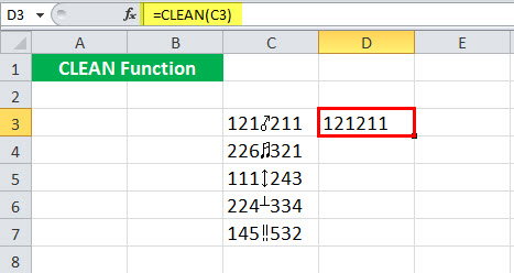 CLEAN Example 5-2