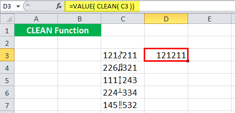 CLEAN Example 5-4