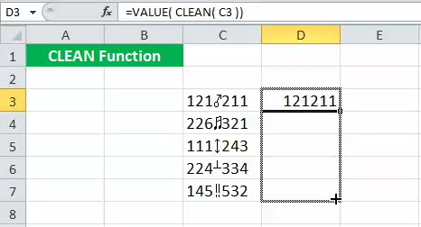 CLEAN Example 5-5