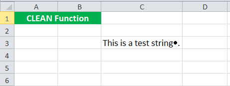 CLEAN Function Example1
