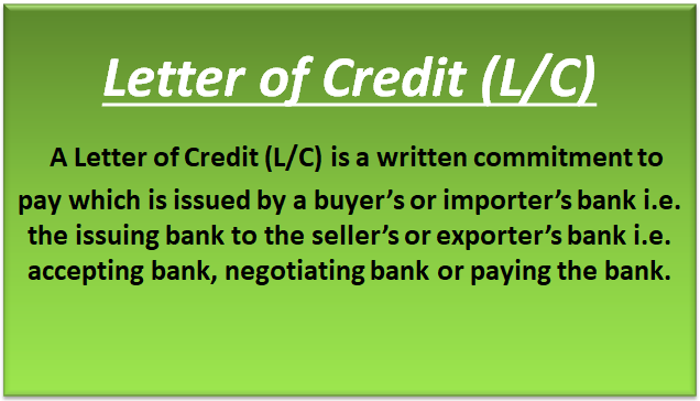 Letter of Credit or LC (Types, Feature) | How Does Letter of