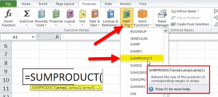 Sumproduct excel function formulaexamples how to use ibookread Download