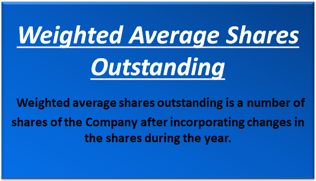 Weighted Average Share Outstanding (Example) | How to Calculate?