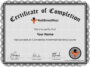 Free Investment Banking Course (with Free Online Certificate)