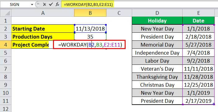 WORKDAY Example 2-2