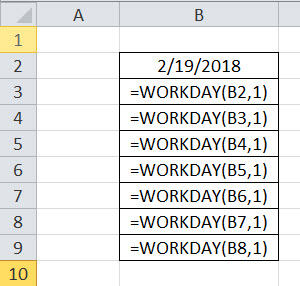 WORKDAY Example 3-1