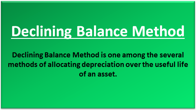 what is a declining balance