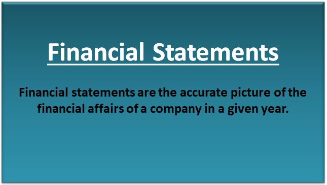 Financial Statement (Examples) | Top 4 Types of Financial Statements