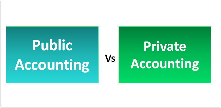 Public Accounting vs Private Accounting