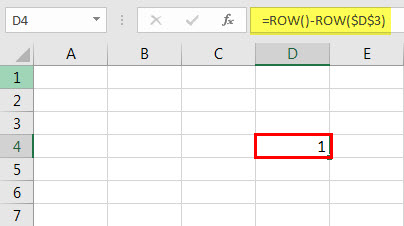ROW Function 7