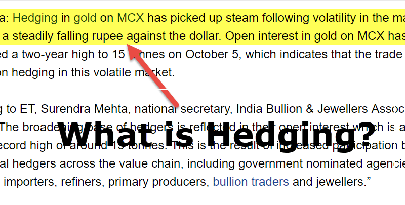 What is Hedging