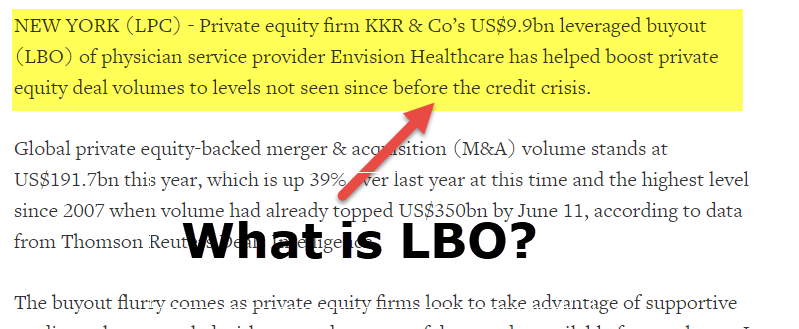 What is LBO (Leveraged Buyouts)? (Meaning, Examples, Features)