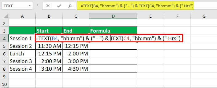 convert numbers to text - Example 1-1