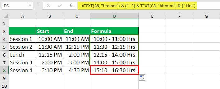 convert numbers to text - Example 1-3