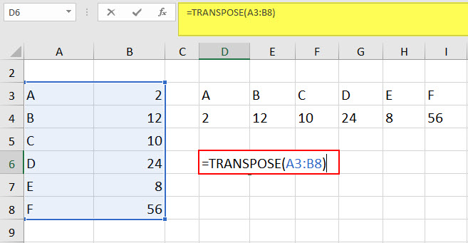 transpose example 1-2