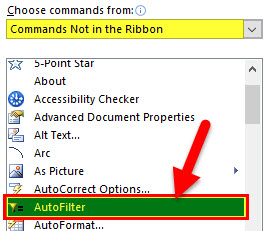Auto Format Option step 5