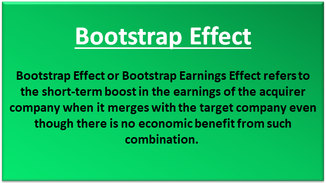 bootstrap effect examples how to identify bootstrap earnings