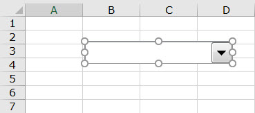 Combo in Excel - step 7