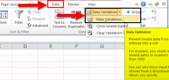 Dynamic Range in Excel Example 3-3