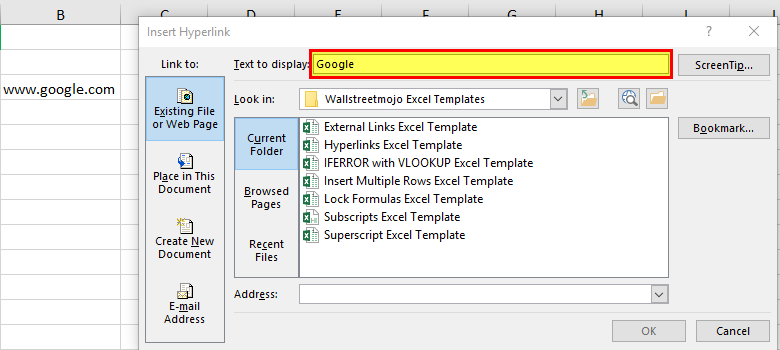 Hyperlinks in Excel | Top Excel Tips & Shortcuts to Create