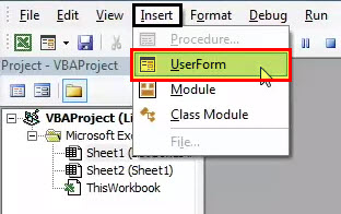 List Box in Excel 13