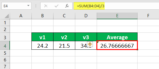 Lock cells in Excel Formula