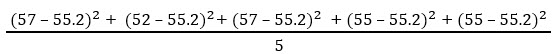 Standard Deviation Example 1-3