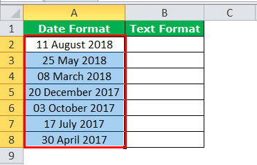 Text to Columns in Excel example 3-1