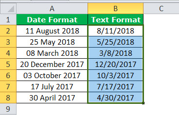 Text to Columns in Excel example 3-5
