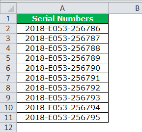 Text to Columns in Excel example 4