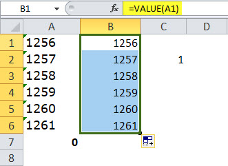 Using VALUE Function step 2