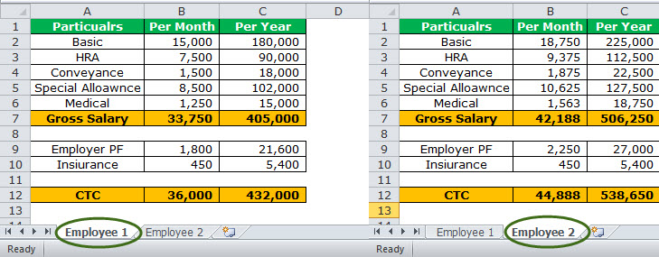 Watch Window in Excel Example 2