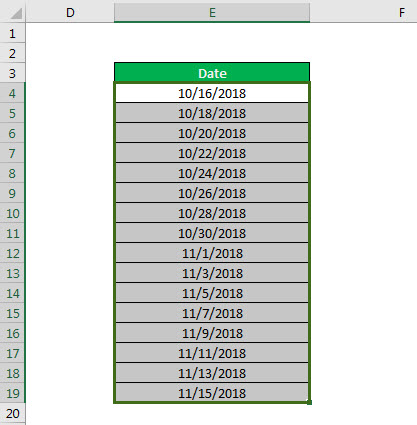 conditional formatting example 3