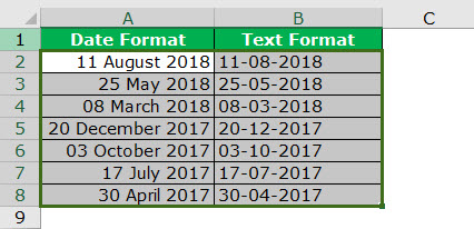 date to text example 3-1