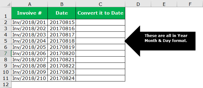date to text example 4