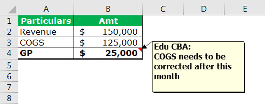 print comment in excel