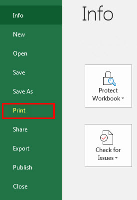print comments in excel step 13