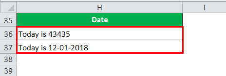 Formatted Date Example 4-1