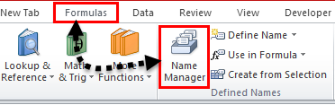 Drop Down List in excel step 2-1
