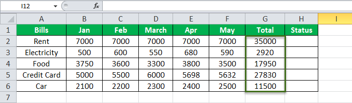 Equation in Excel Example 2-3
