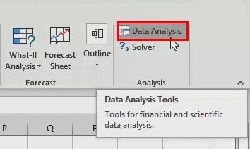 Excel Ad-Ins - Analysis Tool Pack
