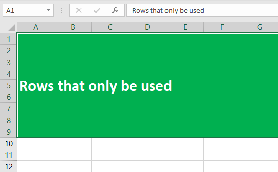 Excel Row Limit Example 2-7