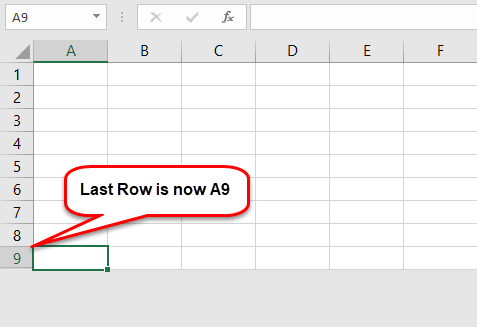 Excel Row Limit Example 3