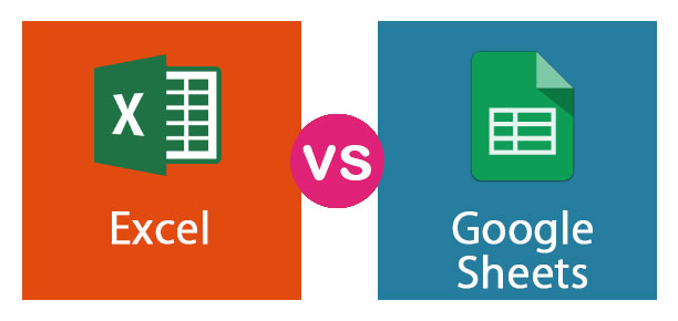 Excel vs. Google spreadsheets