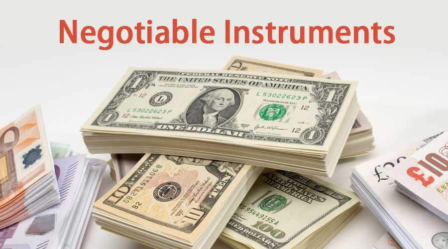 Negotiable-Instruments