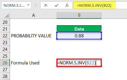 Norm.S.INV Example 2-2