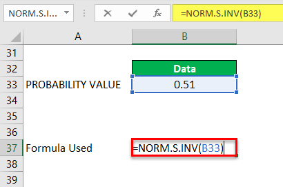 Norm.S.INV Example 3-3